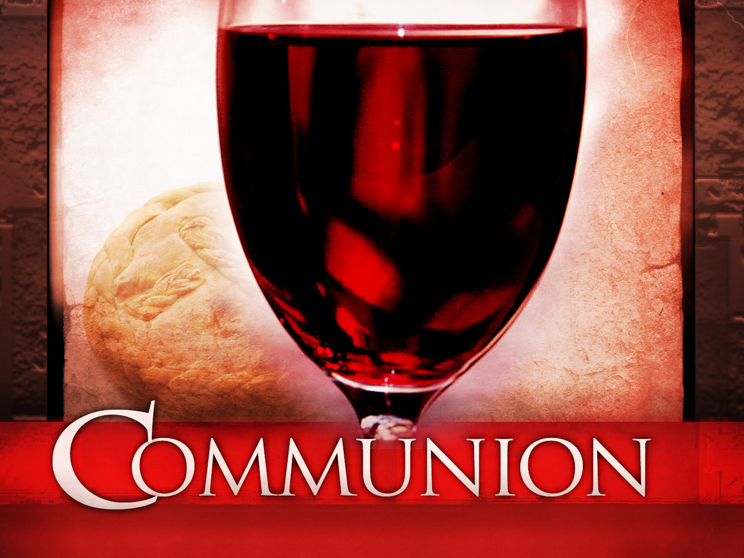 Communion:  God's Wrath Is The Shadow of Jesus